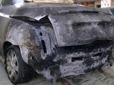 Колата на Кателина Гатева бе взривена