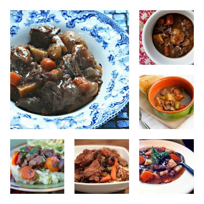 From-Scratch Ideas from Food Bloggers for Slow Cooker Beef Stew! found on SlowCookerFromScratch.com