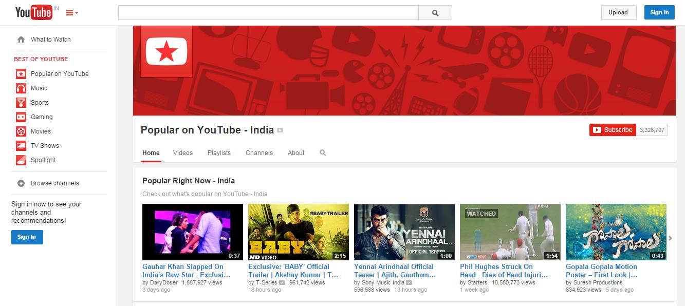 YouTube - Now