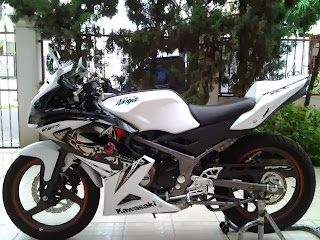 modifikasi motor ninja 150