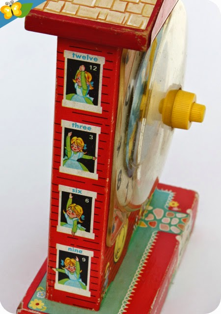 L'horloge -  Teaching Clock - Music Box de Fisher-Price