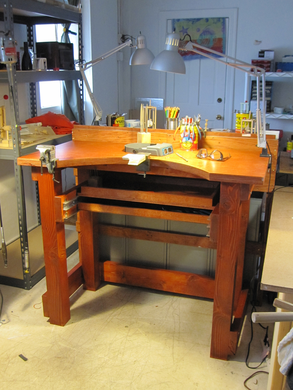 building a jewelers bench