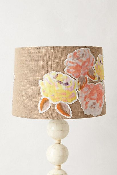 Anthropologie lamp shade