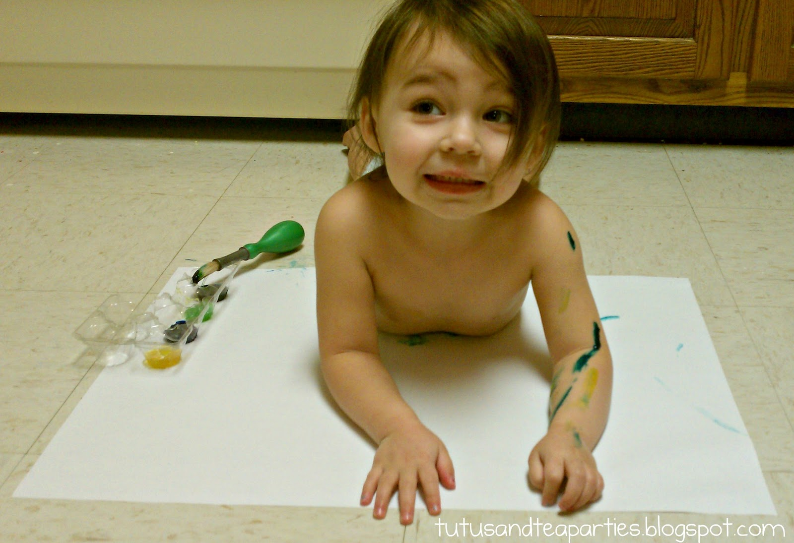 Sensory Activity:: Body Painting