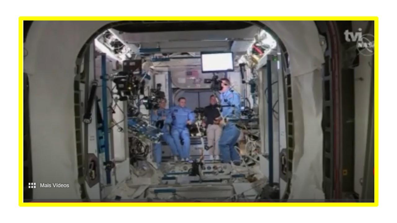 Crew Dragon da SpaceX - FEITO HISTÓRICO: