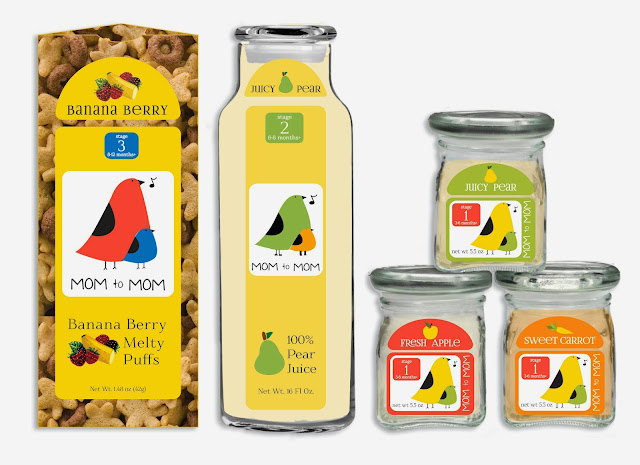 Mom to Mom Packaging Redesign Eileen Gano egano