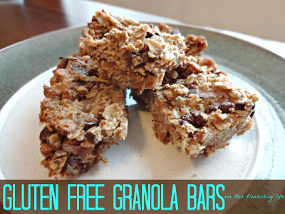 This Flourishing Life: Recipe: Homemade No-Bake Granola Bars