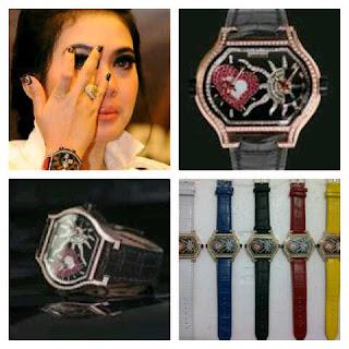 jam tangan wanita artis