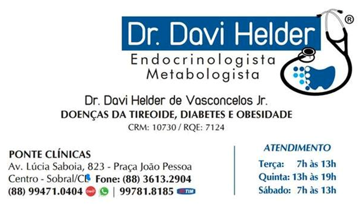 Dr. DAVI HELDER DE VASCONCELOS JR