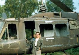 L'elicottero al Cu Chi (Saigon)