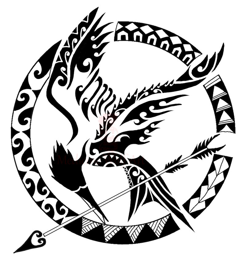 Maori Tattoo Colouring Pages