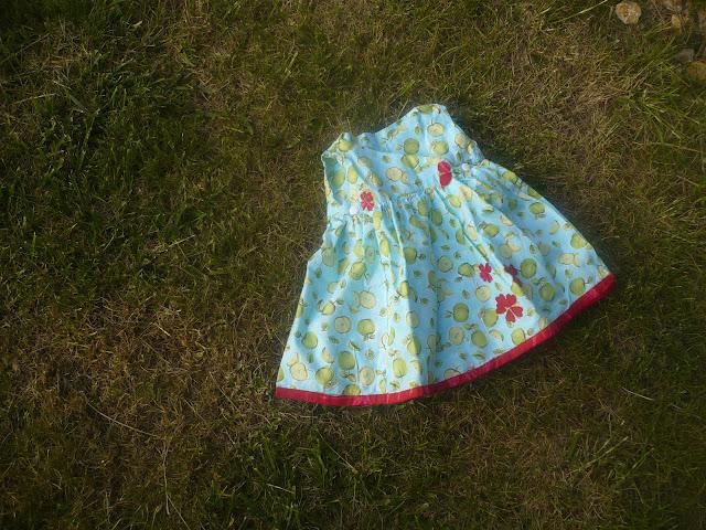sewing a kimono dress