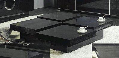 MuyAmenocom Mesas De Centro Modernas Color Negro
