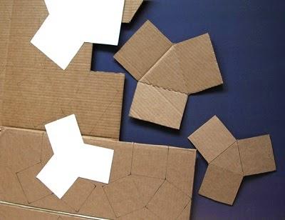 C mo hacer macetas triangulares con cemento - Como hacer cemento ...