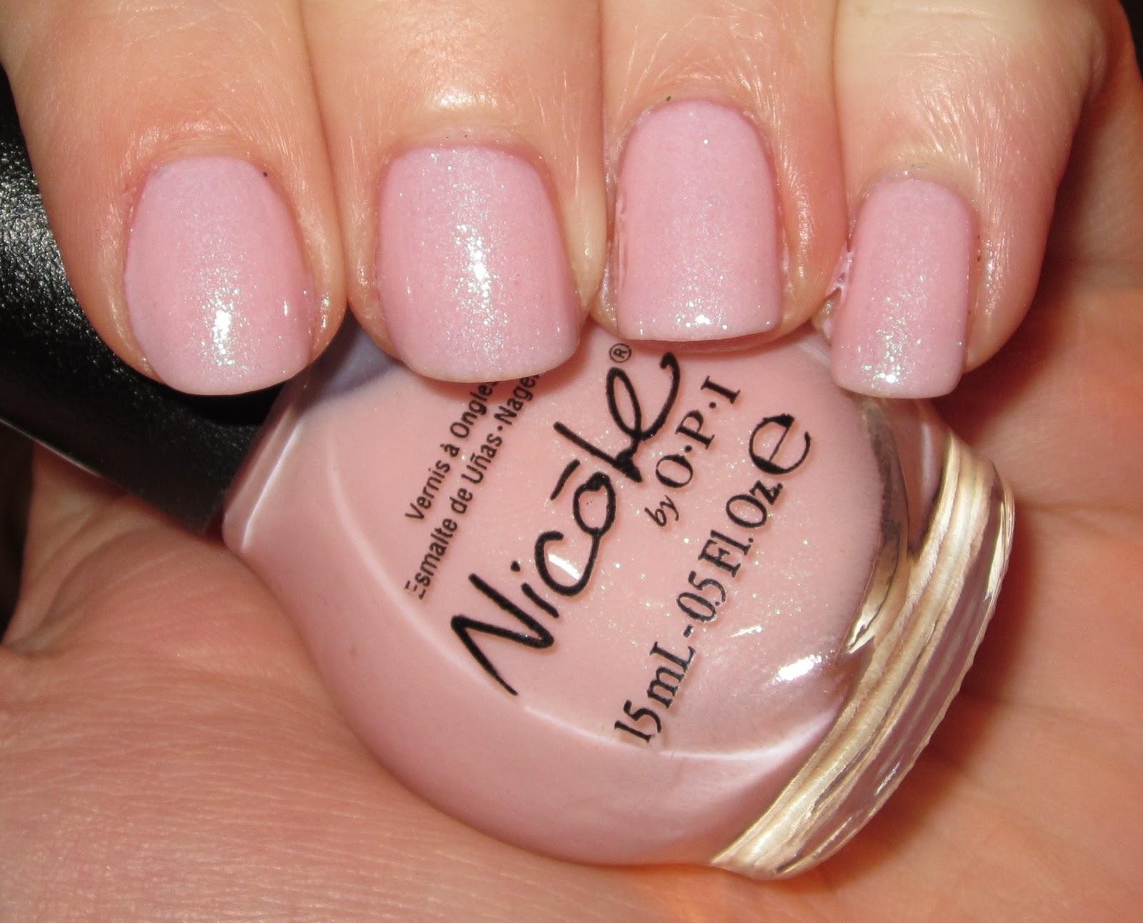 Kate\'s Nails: Nicole By OPI Kim-Pletely In Love