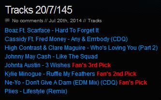 Download [Mp3]-[NEW TRACK RELEASE] เพลงสากลเพราะๆ ออกใหม่มาแรงประจำวันที่ 20 July 2014 [Solidfiles] 4shared By Pleng-mun.com