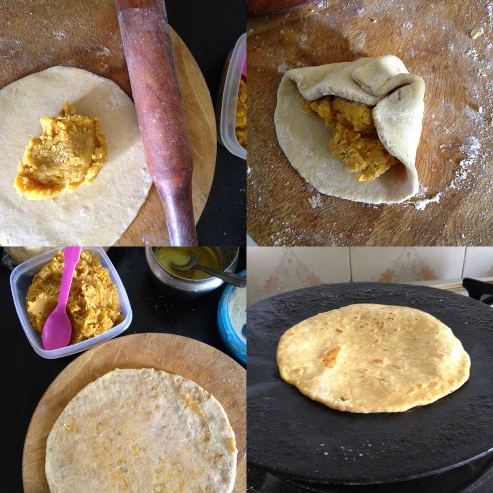 how to make puran poli dal boli