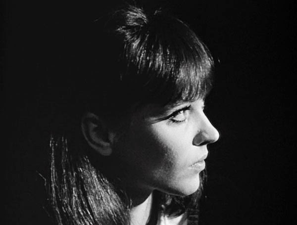 Anna Karina in Jean-Luc Godard's Alphaville