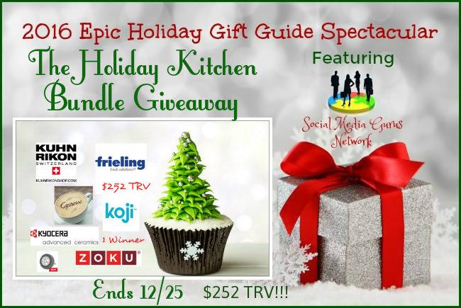 Holiday Kitchen Bundle Giveaway