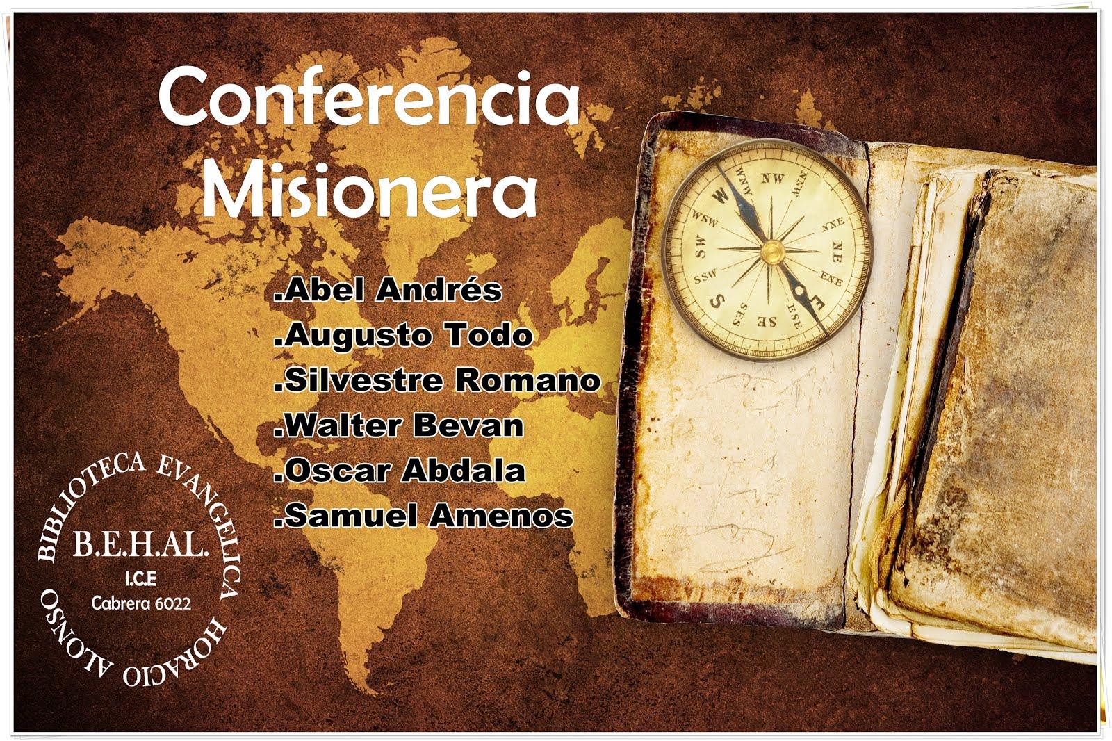 Audios-Conferencia Misionera Argentina 1985