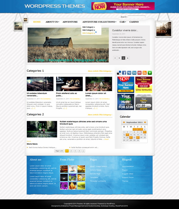 Extremellow WordPress Theme