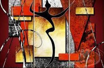 cuadros trpticos con textura pintura al leo modernos trpticos al leo