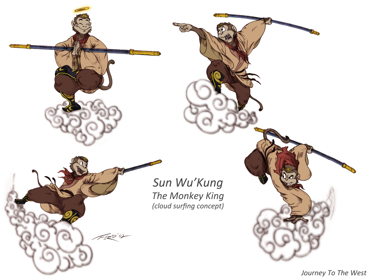 monkey journey to the west Cosmic kung fu on the scale of star wars  china's favorite rip-roaring morality  tale has everything—including, here, a brilliant rendition by david kherdian.