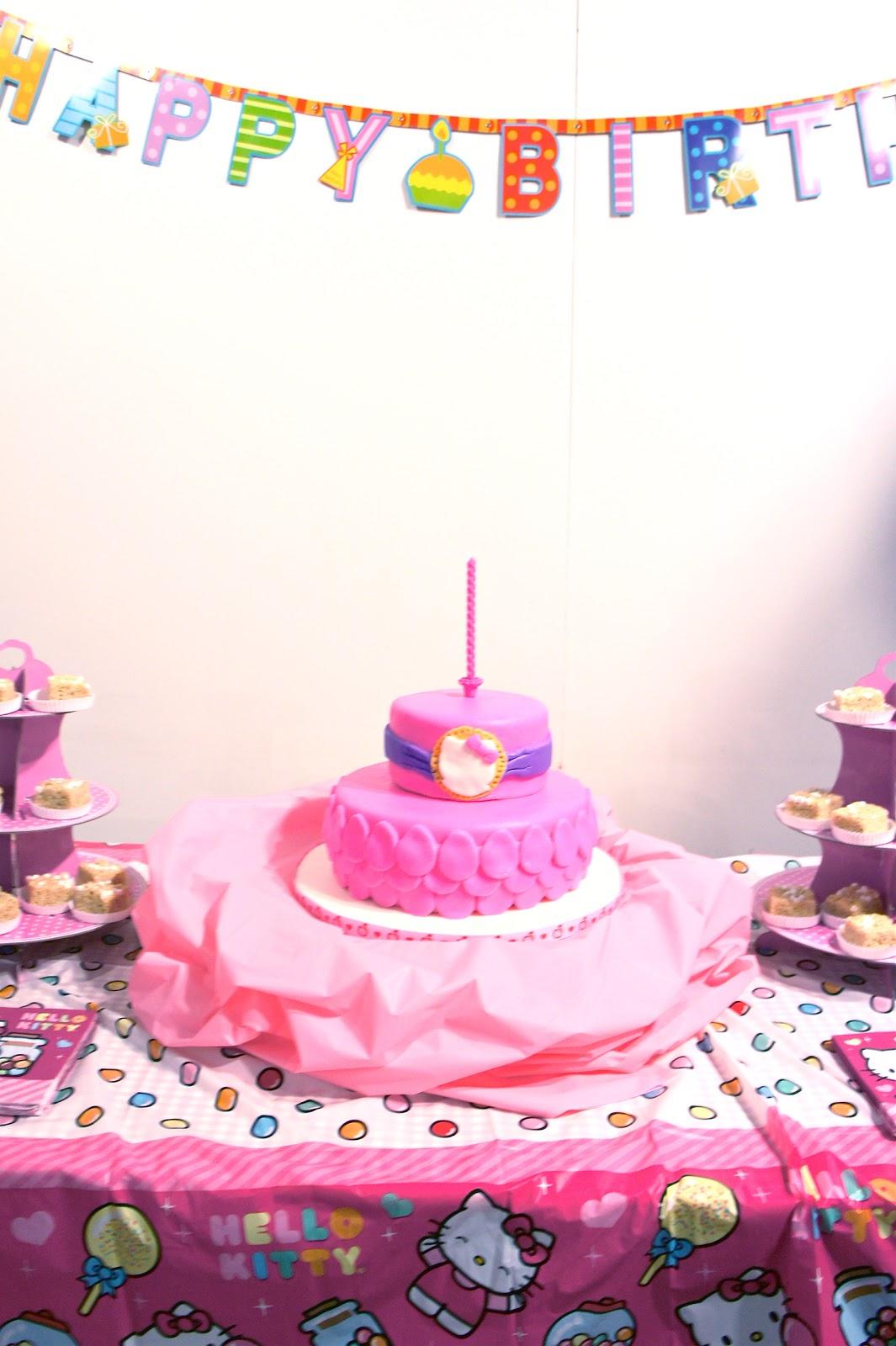 Mum Inspired By: Hello Kitty Theme Birthday Party
