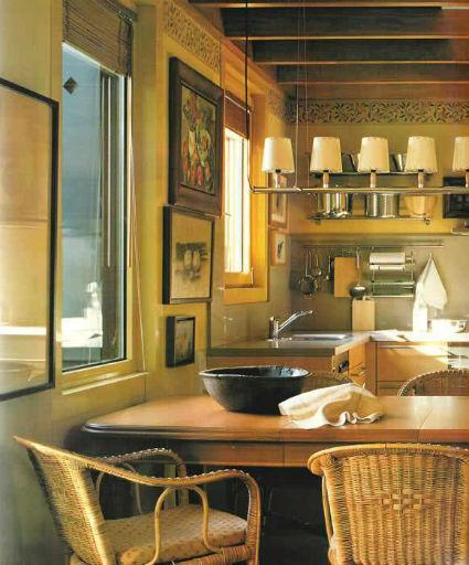 Decoraci n de interiores cocinas con comedor de diario for Cocinas con comedor de diario