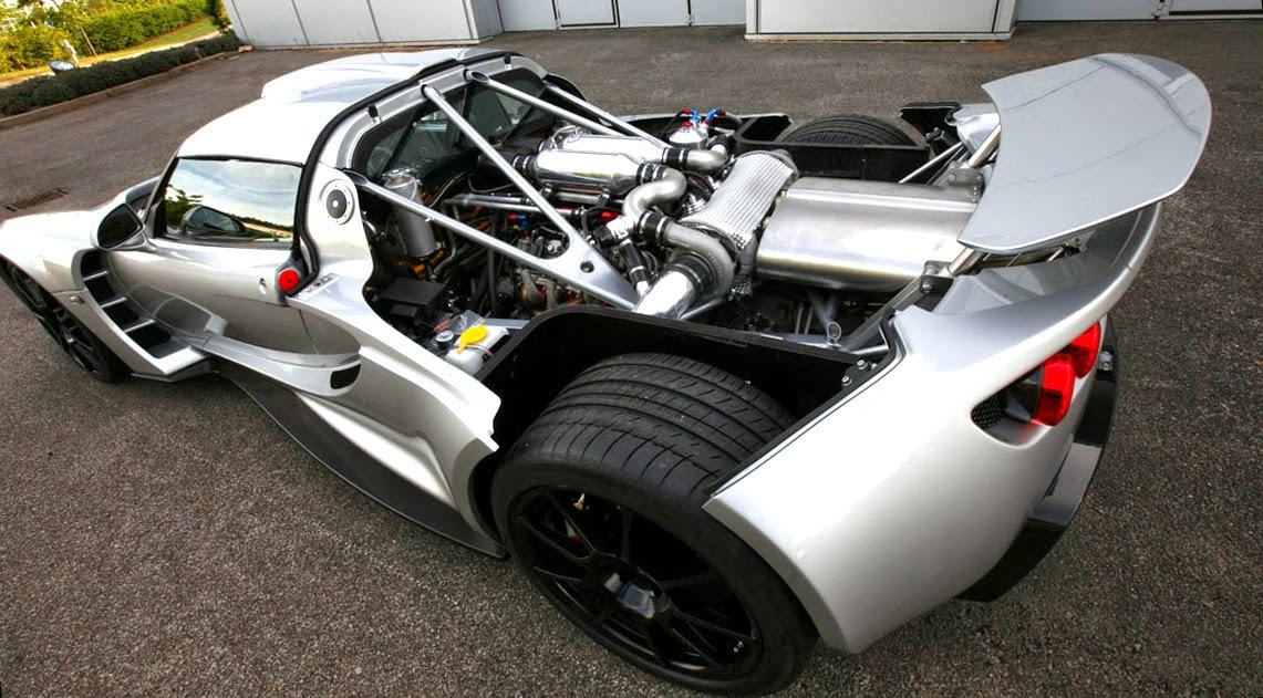 Hennessey Venom GT2 engine