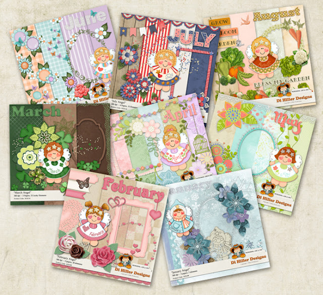 January thru August Angel Kits
