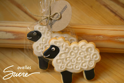 galeta decorada ovella, galleta decorada oveja, animal, animales, animals