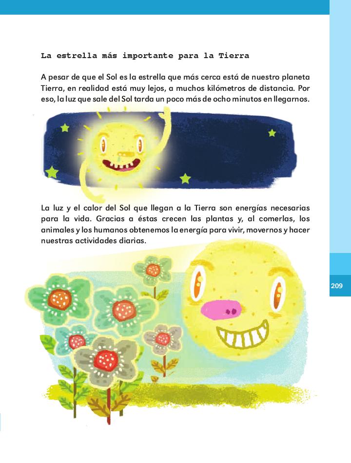 El Sol - Español 2do Bloque 5 ~ Apoyo Primaria