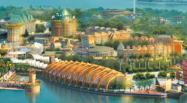 Passion for luxury world 39 s ten most ambitious hotel for Most luxurious hotel in singapore