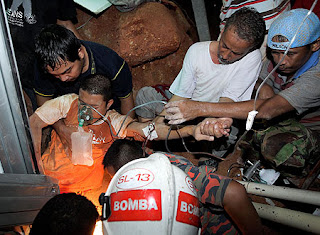 Gempar! Lebih 20 Anak Yatim Tertimbus Bersama Rumah Dalam kejadian Tanah Runtuh Ulu Langat !