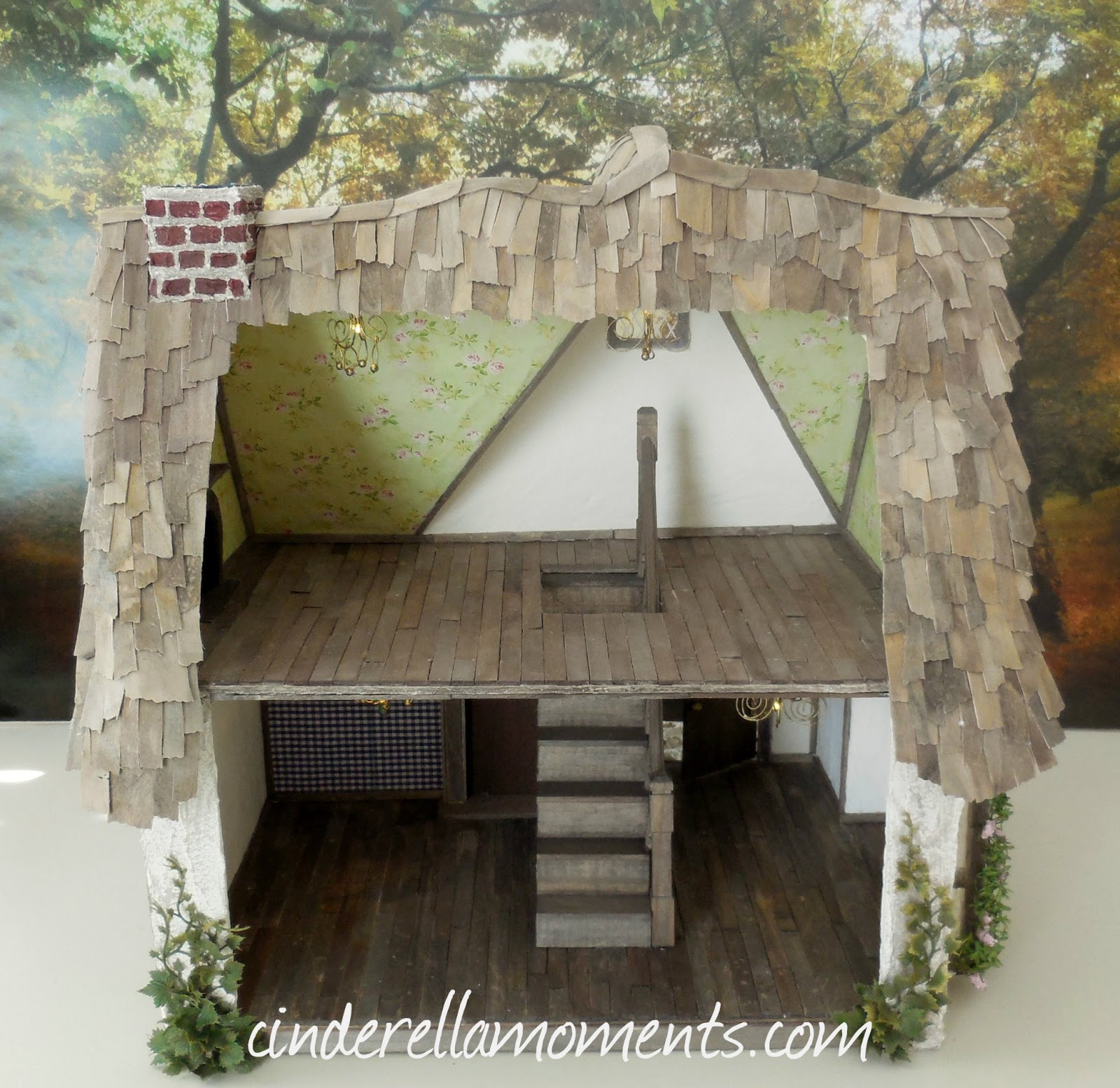 Cinderella Moments: The Old Cottage Dollhouse