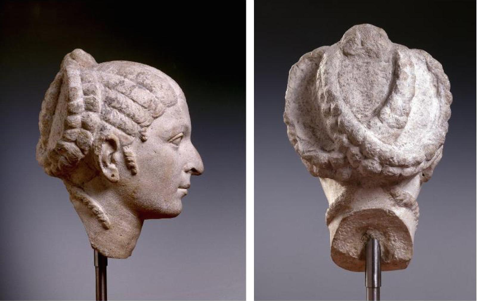 Cléopâtre  des coiffures de reine