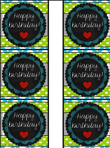 http://www.teacherspayteachers.com/Product/Happy-Birthday-cardspencil-toppers-Blue-Lime-Green-and-GrayCharcoal-theme-1279887