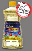 Freebie – Hudson Canola standard edible oil