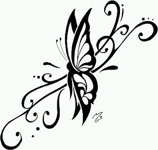 Tatoos y Tatuajes de Mariposas, parte 6