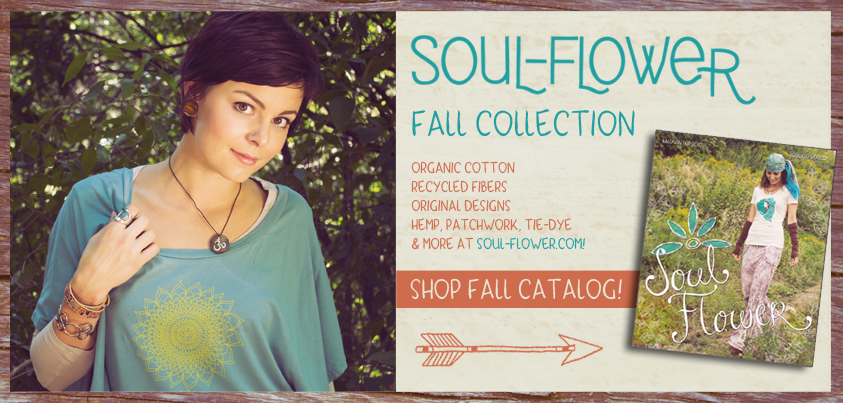 soul flower catalog release - Soul Flower Fall/Winter 2012 Catalog Release!