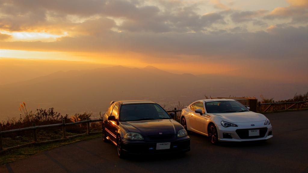Honda Civic VI, hatchback, Subaru BRZ, japońska motoryzacja, sportowe samochody, usportowione, znane, VTEC is kicking in, Boxer, galeria JDM