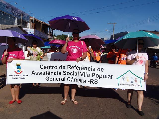 I Caminhada das Mulheres em comemoração ao Dia Internacional da Mulher  18/03/2016