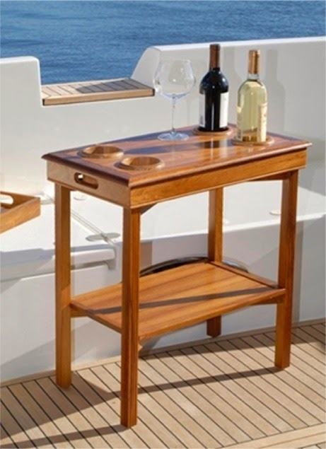 Delightful Table Server Also Has A Collapsible End Table, With Legs That Fold Inward  As Well As A Removable Top And Lower Shelf. This Table Also Features  Drink/bottle ...