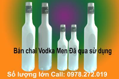 bán chai thủy tinh cũ, cung cấp chai thủy tinh, chai thủy tinh