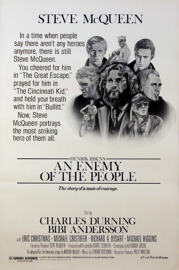 an enemy of the people by Dr stockmann attempts to expose a water pollution scandal in his home town which is about to establish itself as a spa when his brother, the mayor, conspir.