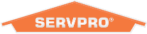Logo of Servpro, franchise based cleaning company