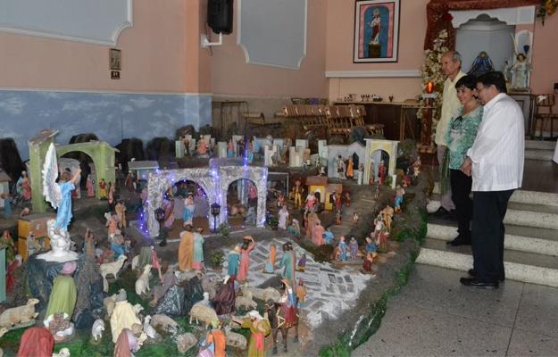 Pesebre de la parroquia La Beatriz, el mejor de Valera