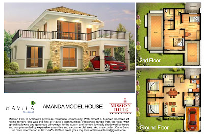 Mission Hills Antipolo | House Model Amanda
