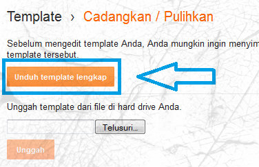 Backup template blogger 2